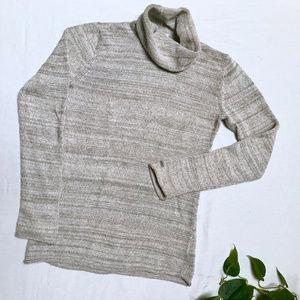 Columbia — Turtleneck Sweater Beige & Cream / M